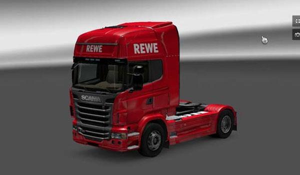 Scania REWE Skin