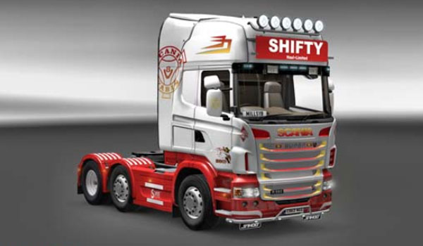 Scania Shifty Haul Ltd Skin
