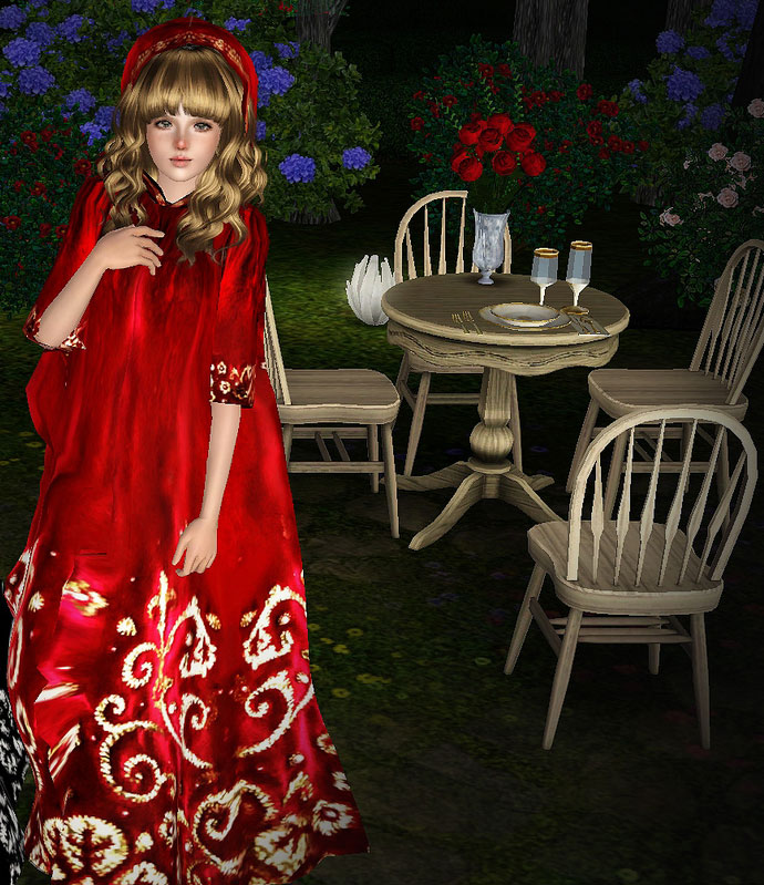 Imagen del skin de la caperucita con su típico vestido rojo.