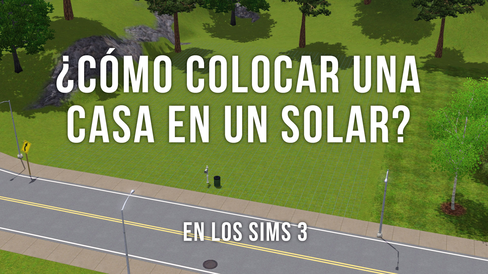 Colocar casa Sims 3