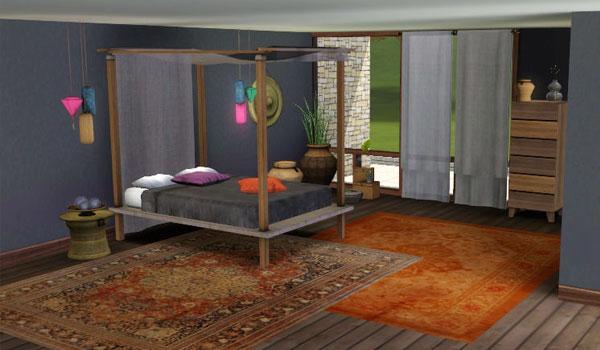 Dormitorio Sudeste Asiático inspired