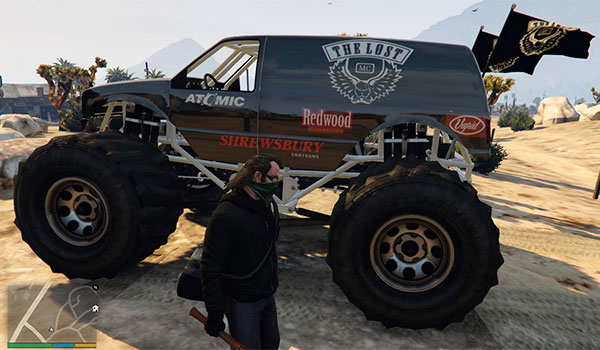 Lost MC Monster Truck Mod