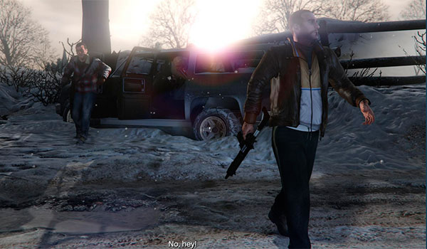 imagen donde vemos la apariencia de Niko Bellic en el personaje de Trevor, gracias al mod niko para GTA 5.