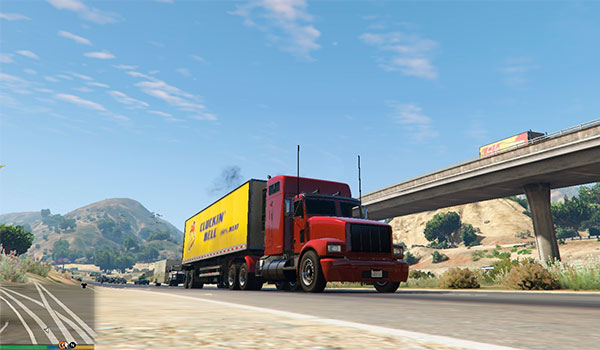 Trucking Missions Mod