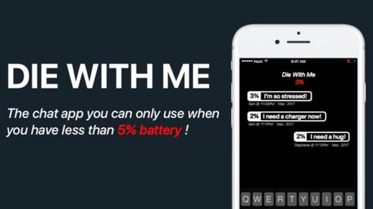 Die With Me app