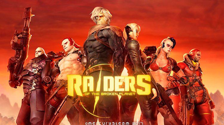 Requisitos Raiders of the Broken Planet