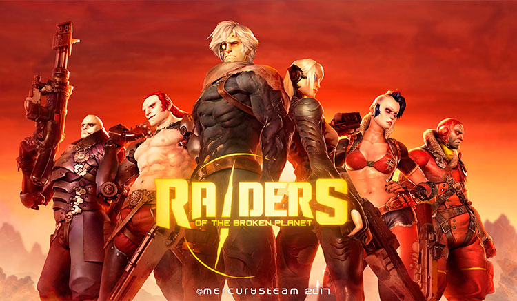 Requisitos Raiders of the Broken Planet